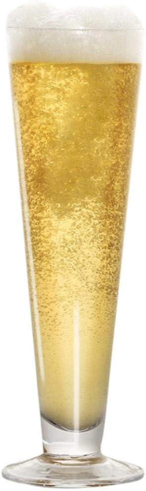 BWM - Copa de cóctel de cristal para cerveza, Corona - Vaso de cerveza, 380ml