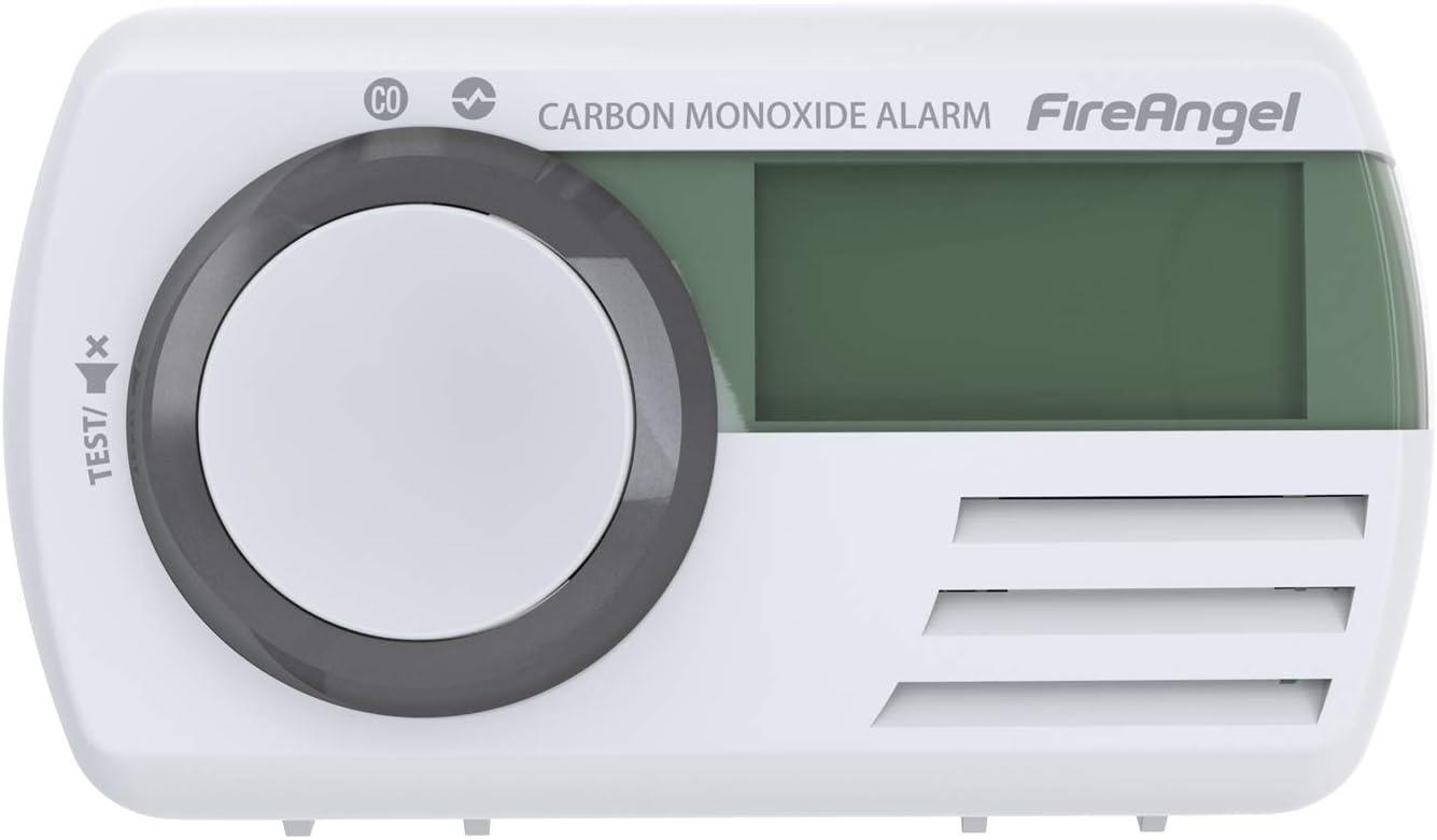 Fireangel CO-9D - Detector Digital de Monóxido de Carbono