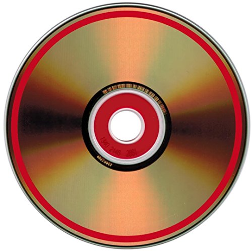 100-Pak MAM-A (Mitsui) Gold/Gold Archival CDRs w/RED Confidential Security Ring