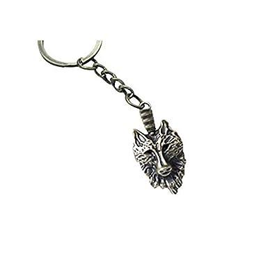 Wolf llavero joyas de bronce antiguo regalo, mejor regalo ...