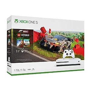 Best Epic Trends 514BRuL-%2BVL._SS300_ Microsoft Xbox One S 1TB Forza Horizon 4 LEGO® Speed Champions Bundle, White, 234-01121