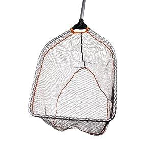 Folding Rubber Mesh Landing Net L (65x50cm)