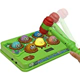 Catchstar Wack A Mole Game Fast Reflexes Whack-a-mole Game Language Learning Whack A Mole Durable Musical Electronic Whac A Mole With Soft Hammer For Kids Toddlers Childs Baby Educational Toys