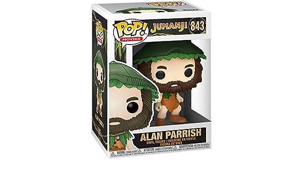 Jumanji Figura Vinilo Alan Parrish - 843 Unisex¡Funko Pop!: Amazon ...