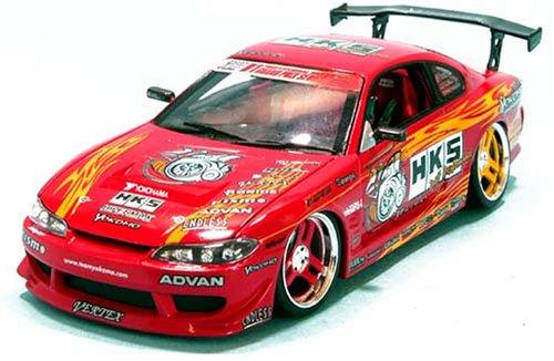 1/24 HKS S15 GT2835 PRO仕様 2003 YOKOMO(レッド)  「D1 GRAND PRIX SERIES」 MS042405C