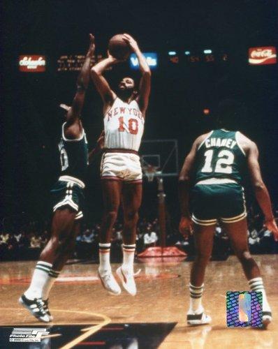 Photo Jump Shot - Walt Frazier Action Sports Photo - Jump Shot for N.Y. Knicks (8 x10)