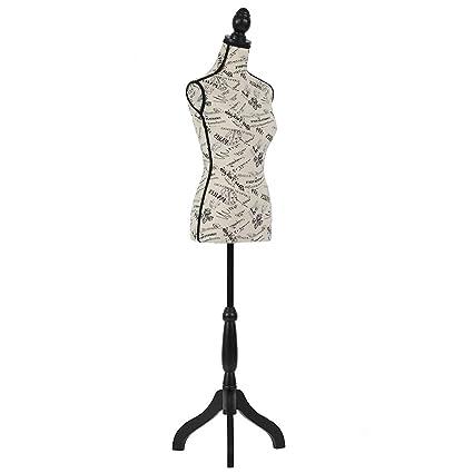 Amazoncom Mannequin Torso Manikin Vestido Con Forma De