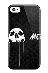 Awesome Design Heavy Metal Hard Case Cover For Iphone 4/4s by supermalls