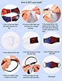 10 Yards 1/4 Inch Elastic Mask Strap String and 10