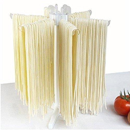 ipekar Pasta Drying Rack Spaghetti Dryer Stand Tray Collapsi