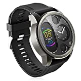 Smart Watch,B-Active Fitness Tracker,Q Watch Charger,IP68 Smart Watch,Heart Rate Monitor,26mm TPU Band,Dual time Zone Black Watch