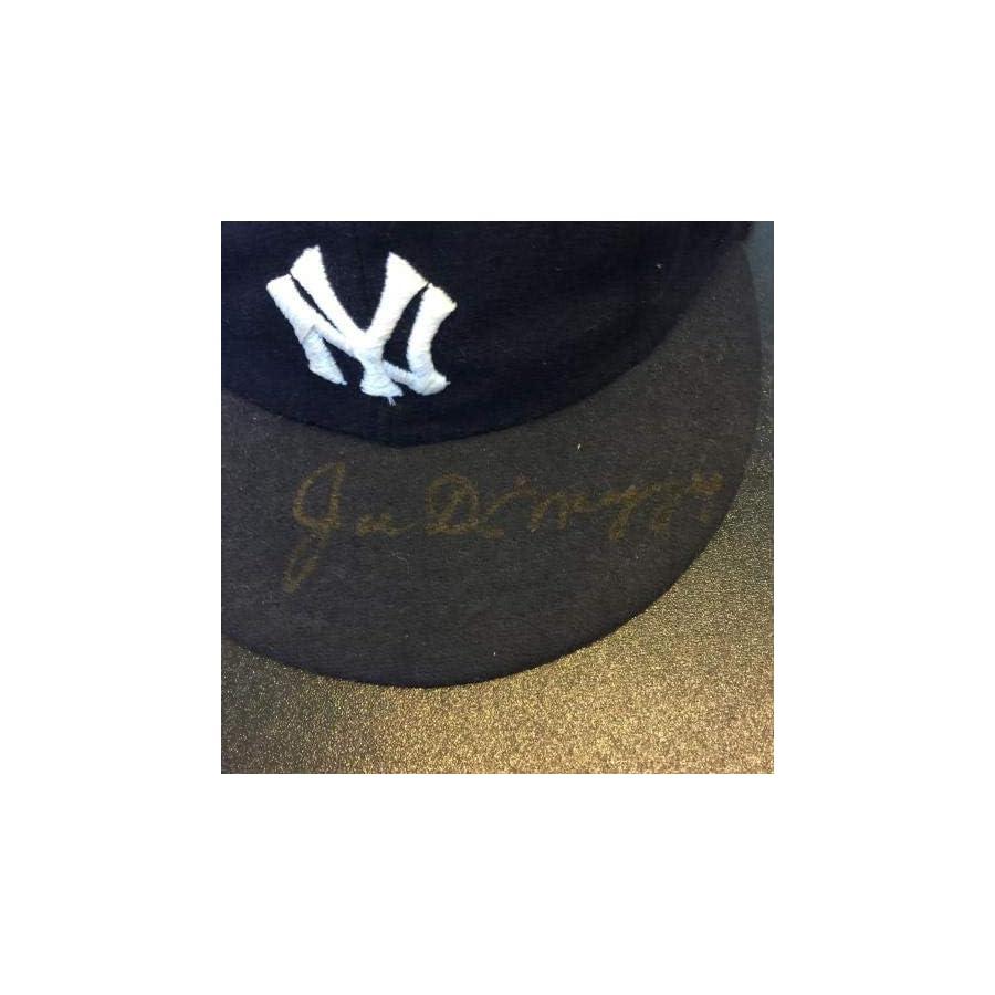 Vintage Joe Dimaggio Signed 1940's Style New York Yankees Game Model Hat COA JSA Certified Autographed Hats