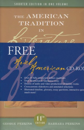 American Tradition in Literature with Readers Interactive Exploration of American Literature: Concise Edition