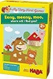 HABA My Very First Games - Eeny Meeny Moo - Two Amusing Memory Games for Ages 2 and Up (Made in Germany)