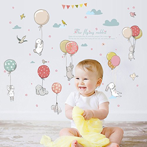 Sticker Clearance , DIY Cute Cartoon Background Wall Becoration Wall Stickers Personalized by Little Story