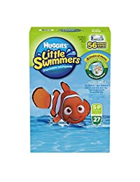 Huggies Little Swimmers Disposable Swimpants, Small, 27 Count - Bonus 56 Wipes Included BOBEBE Online Baby Store From New York to Miami and Los Angeles