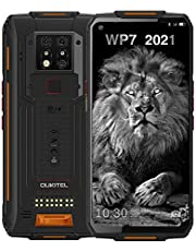WP7 Rugged Smartphone, Night Vision Camera 8GB + 128GB Helio P90 Waterproof Unlocked Android Cell Phone 6.53 inches FHD+ Global 4G LTE Dual SIM, IP68 Triple Cameras NFC AI Cellphone