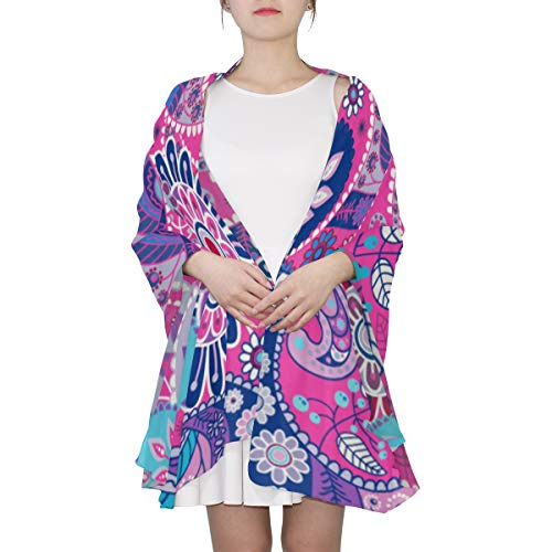 (Brightly Colored Bacteria Unique Fashion Scarf For Women Lightweight Fashion Fall Winter Print Scarves Shawl Wraps Gifts For Early Spring)