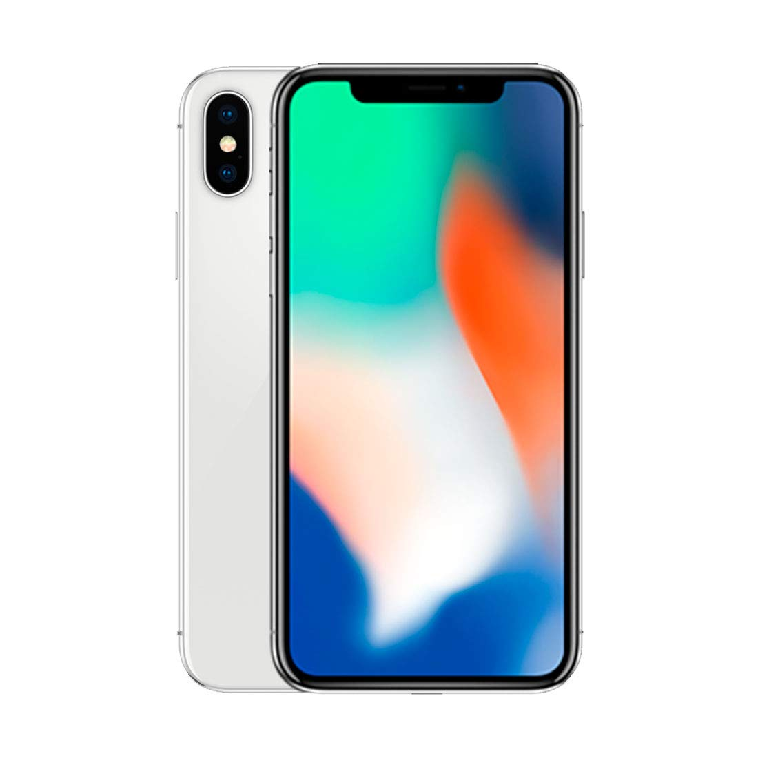 Apple Iphone X 256gb Silver For Att T Mobile Renewed