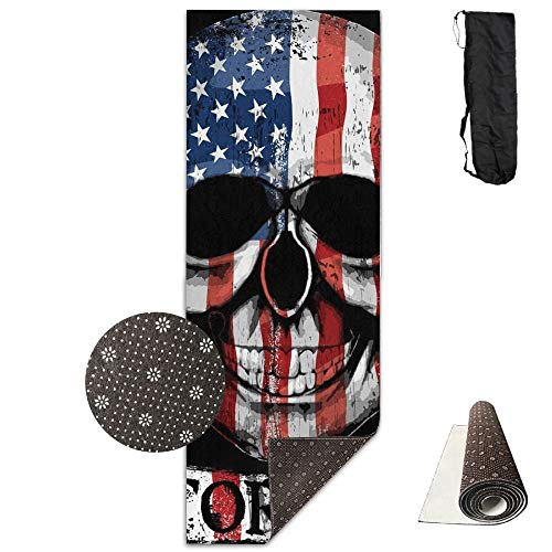 American Flag,Eco-Friendly Non-Slip Yoga Mat Thick Pro Exercise and Pilates Mat with A Yoga Bag Waterproof Yoga Mats Fitness from AAA.Yongfugui