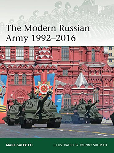 The Modern Russian Army 1992?2016 (Elite Book 217)