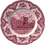 Johnson Brothers Old Britain Castles Pink Dinner Plates 10'' (Set of 6)