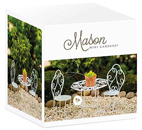 Bistro Stuhl Romantic Mini-Garten Deko Möbel Miniatur Garten Mini Garten