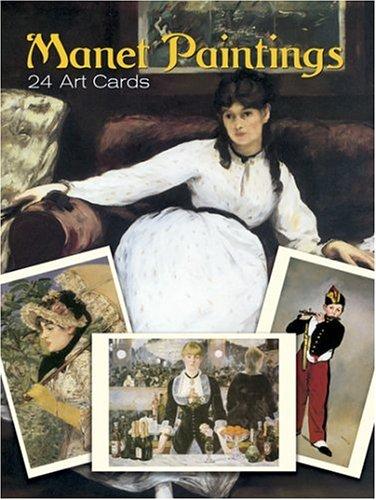 24 Art Postcards - Manet Paintings: 24 Art Cards (Dover Postcards)