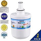 Golden Icepure DA29-00003G Refrigerator Water Filter Replacement for Samsung DA29-00003G, HAFCU1, DA29-00003A (1-Pack)