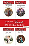 Harlequin Presents May 2016 - Box Set 2 of 2: Billionaire Without a Past\The Shock Cassano Baby\Claiming the Royal Innocent\Kept at the Argentine's Command (Irresistible Russian Tycoons)