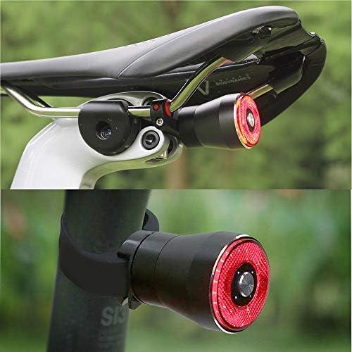 Añadiendo al carrito...Añadido a la cestaNo añadidoNo añadidoEBUYFIRE Luz Trasera de Bicicleta Inteligente Recargable USB, Super Brillante Rojo Luz LED Bici, Impermeable, Faro Trasero Bici para Máxima Seguridad de Ciclismo