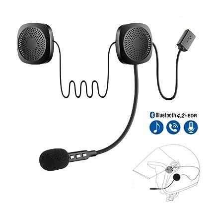 Amazon com: CONRAL Wireless Bluetooth Motorcycle Helmet