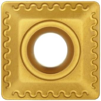 "Sandvik Coromant T-MAX MILLING  Carbide Milling Insert, TPK Style, Triangle, GC4030 Grade, Multi-Layer Coating, TPK43P2L,0.187"" Thick, 0"" Corner Radius (Pack of 10)"