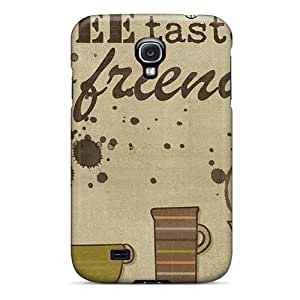 Premium Protection Coffee With A Friend Case Cover For Galaxy S4- Retail Packaging