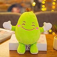 WWUUOOPRT Giocattoli per lo sviluppo della prima i Giocattolo di bambola di frutta vegetale carino peluche creativo (pera)