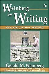 Weinberg on Writing: The Fieldstone Method Paperback