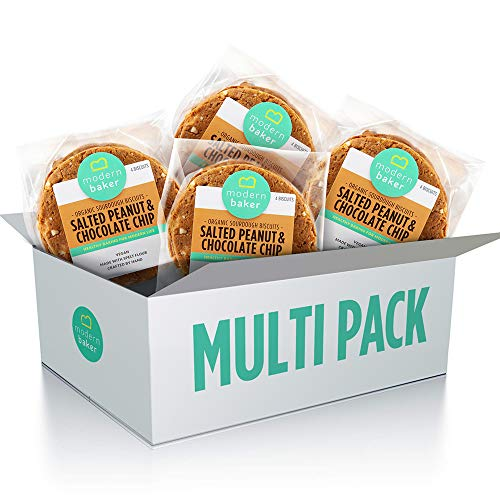 Modern Baker – Salted Peanut, Organic Sourdough Biscuits Four Pack (4 x 200g)