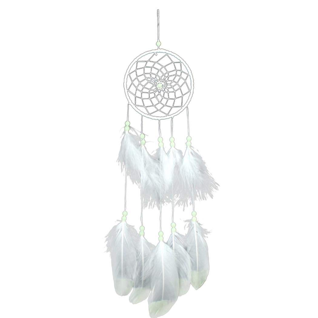 Tinffy New Feather Dreamcatcher Net Home Modern Art Decor Macrame & Knotting by Tinffy (Image #2)