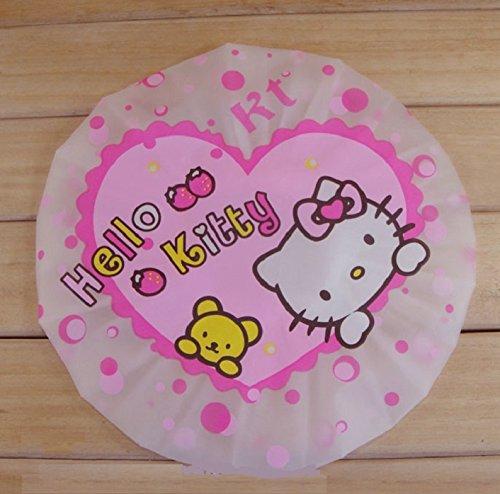 CJB Hello Kitty Bath Shower Caps Hats Lollipop (US Seller)]()