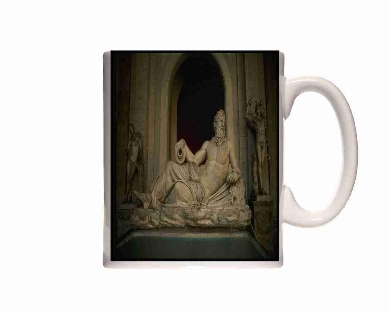 Taza del Coliseo Romano 149033 Moses de Miguel Ángel en la Set de moldes para capitolinos taza en caja de regalo: Amazon.es: Hogar