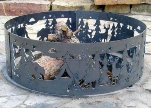 Campfire Fire Ring – Northwoods Campground (48 in. Dia. x 12 in. H) Review