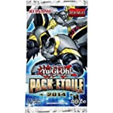 JCCYGO218 - Cartes à collectionner - YU-GI-OH! JCC : Pack Etoile 2014 (1 booster de 3 cartes)