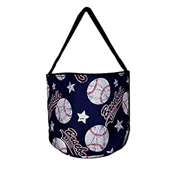 Personalized Childrens Fabric Bucket Tote Bag - Toys- Easter (Blank, Baseball)