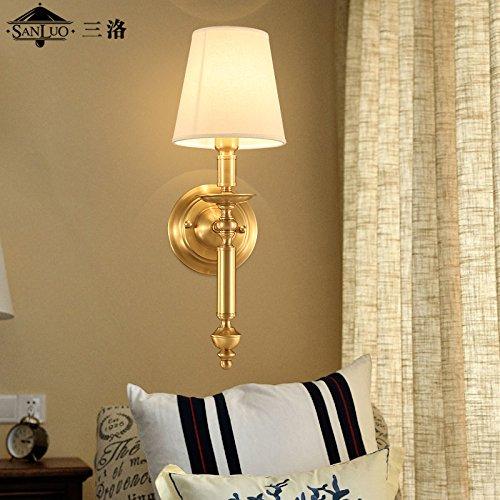 Amazon.com: Avanthika E27 - Lámpara de pared de cobre, para ...