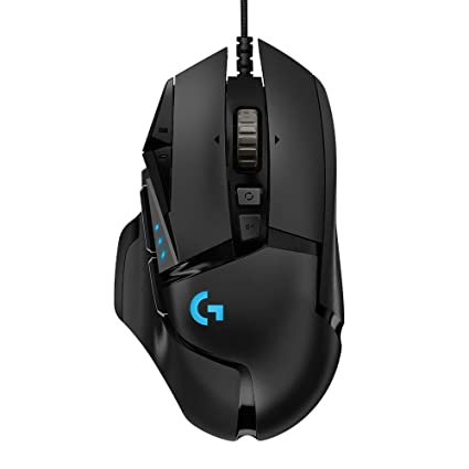 c4606e2173f Amazon.com: Logitech G502 Gaming Mouse HERO High Performance with 16K  Sensor - Customized Lighting: Computers & Accessories