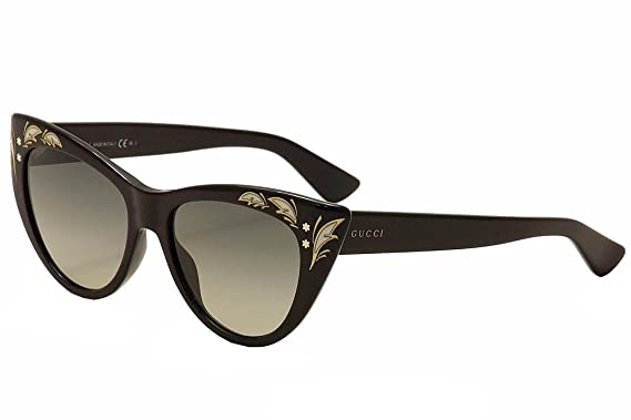 74ef93bca56 Amazon.com  Sunglasses Gucci 3806 S 0807 Black   DX dark gray shaded ...