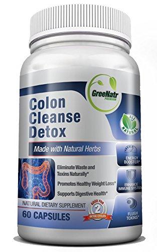 Colon Detox Cleanse Toxin Eliminating Bentonite product image
