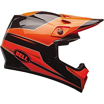 Bell Unisex-Adult Off Road Helmet (Stryker Orange, Small) (Mx-9 mips D.O.T certified)