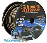 294 Strands Black/White - Sundown Audio 100 Ft 12 AWG Speaker Cable