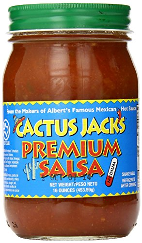 Cactus Jack's Premium Salsa 16 Oz (Pack of 2) (Medium) ()
